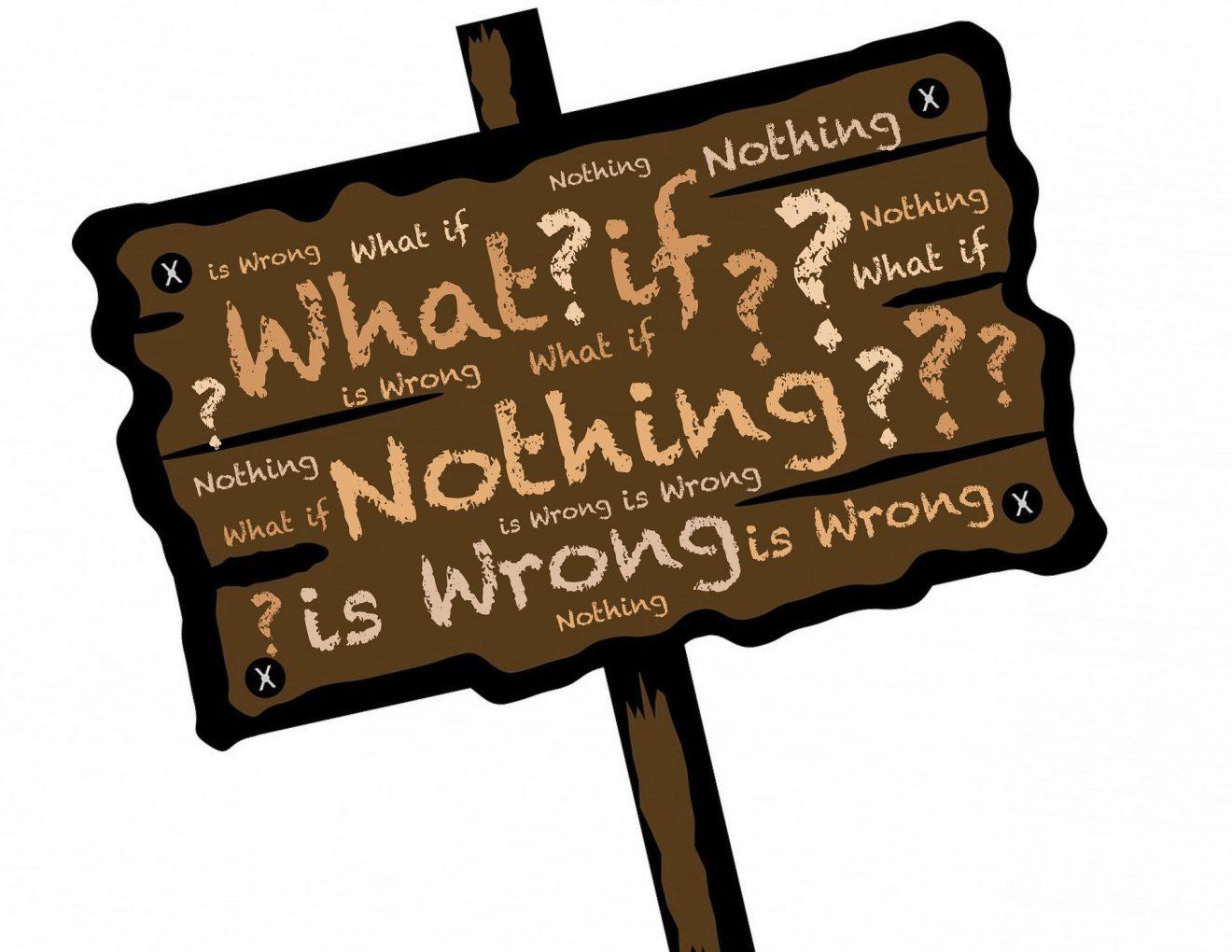 Yanlış Yapmak mı, Hiçbir Şey Yapmamak mı?